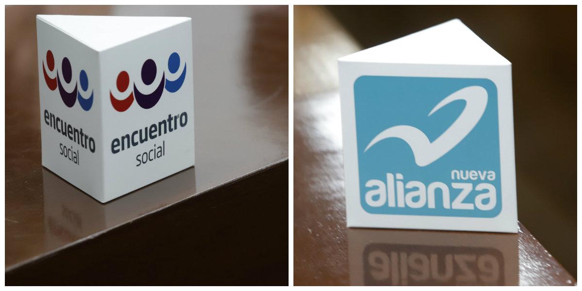 Confirma INE que Nueva Alianza y Encuentro Social perderán registro