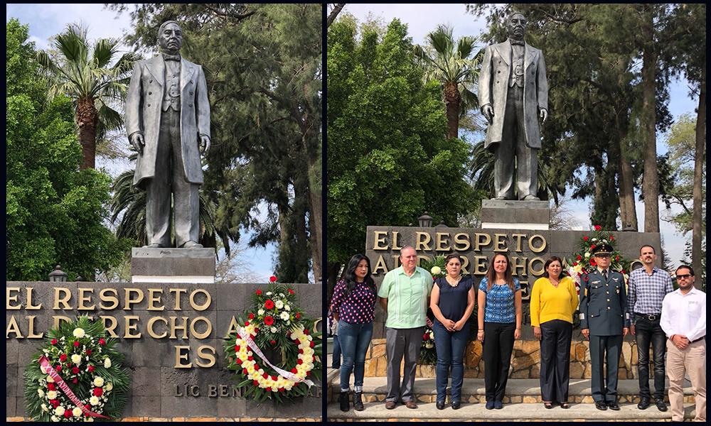 Conmemoraron el 146 aniversario luctuoso del Benemérito de las Américas, Benito Juárez García en Tecate