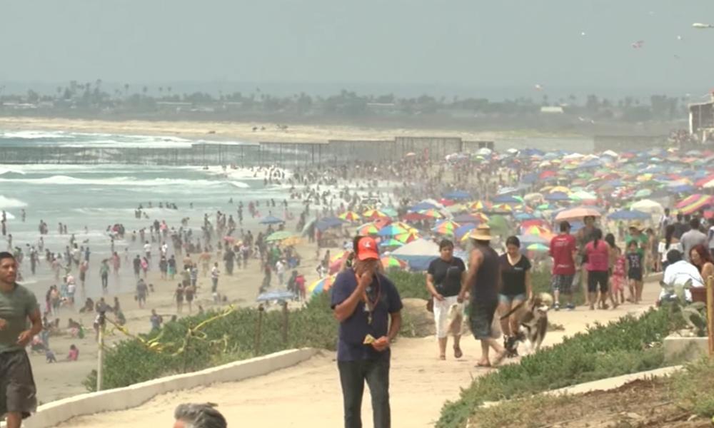 Constantes reportes de niños extraviados en las playas de Tijuana (VIDEO)