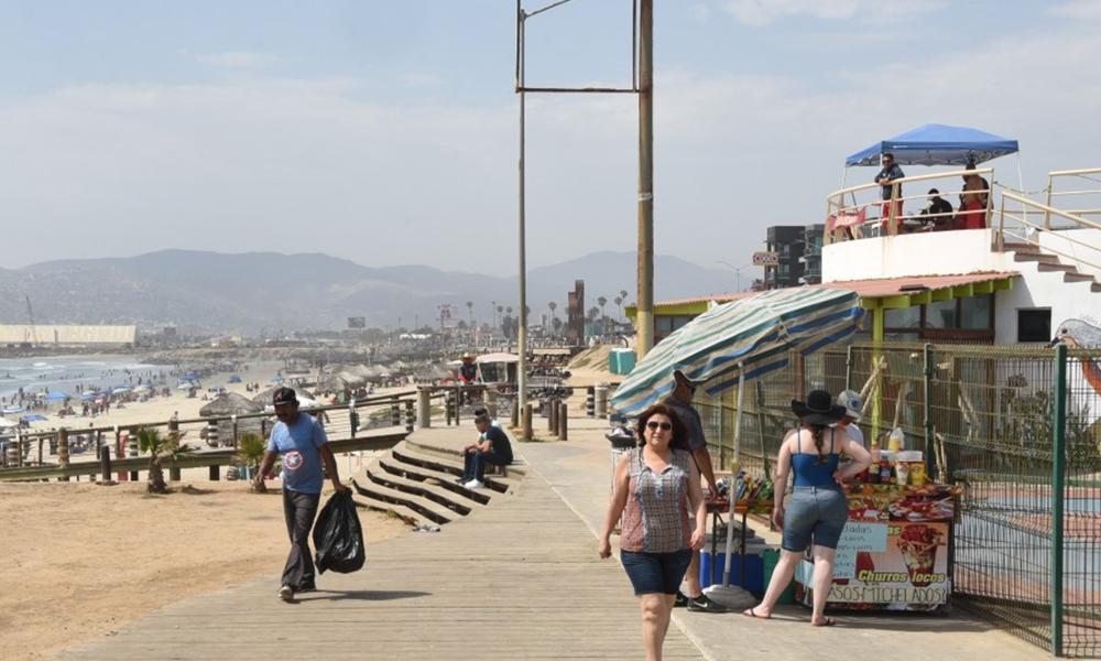 Continúa el operativo de Salvavidas de la Dirección de Bomberos en Playas de Ensenada