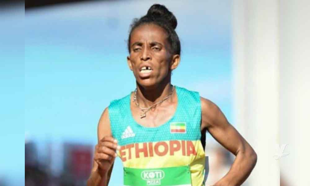 Atleta etíope dice tener 16 años pero nadie le cree, ganó bronce