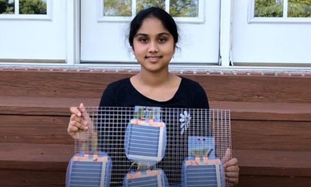 Descubre científica de 13 años cómo generar energía limpia y económica