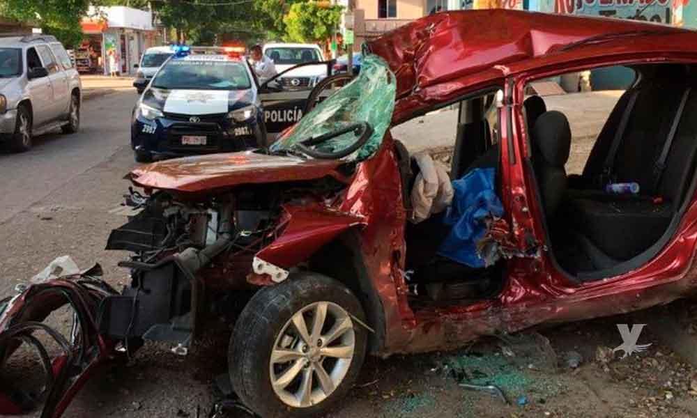 Joven maneja en estado de ebriedad causando un fatal accidente