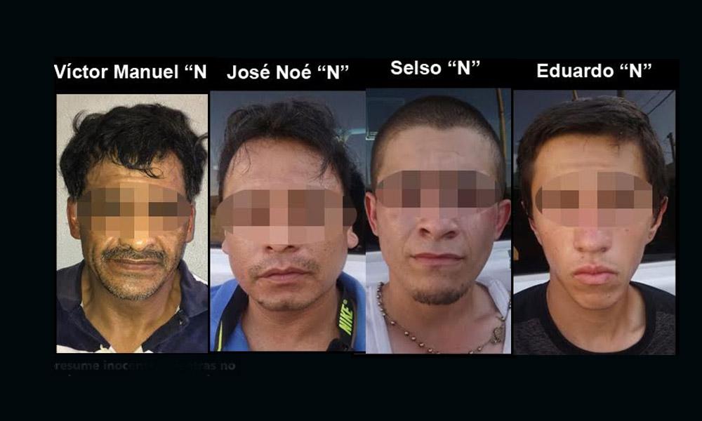 Detienen a cuatro sujetos en posesión de armas de fuego en Tijuana