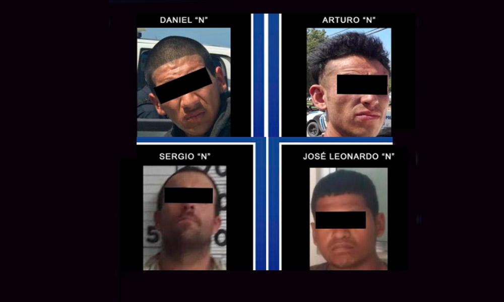 Detienen a cuatro sujetos en posesión de sustancias ilícitas en Playas de Rosarito