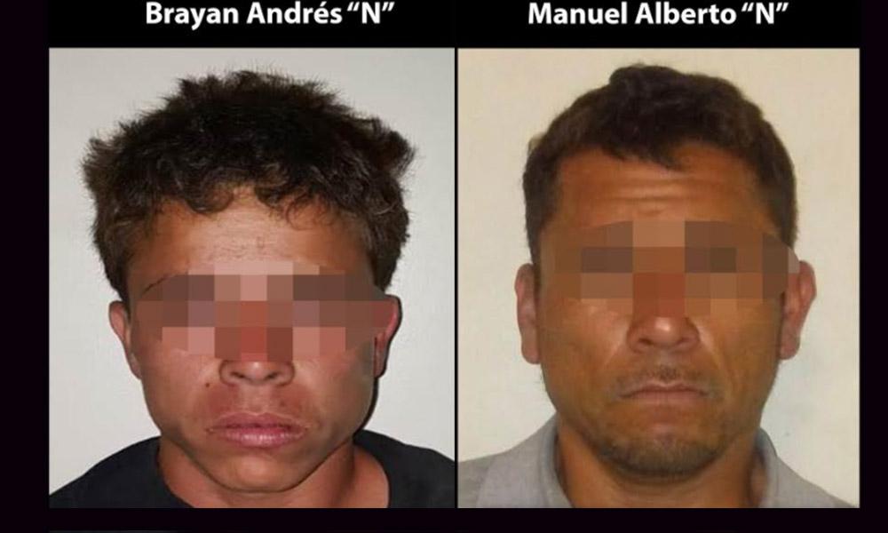 Detienen a dos sujetos armados tras persecución en Tijuana