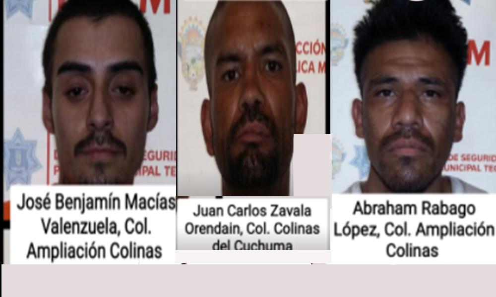 Detenidos por Seguridad Ciudadana de Tecate; de reconocerlos piden sean denunciados