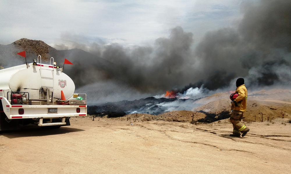 Exhortan a prevenir incendios forestales en Baja California
