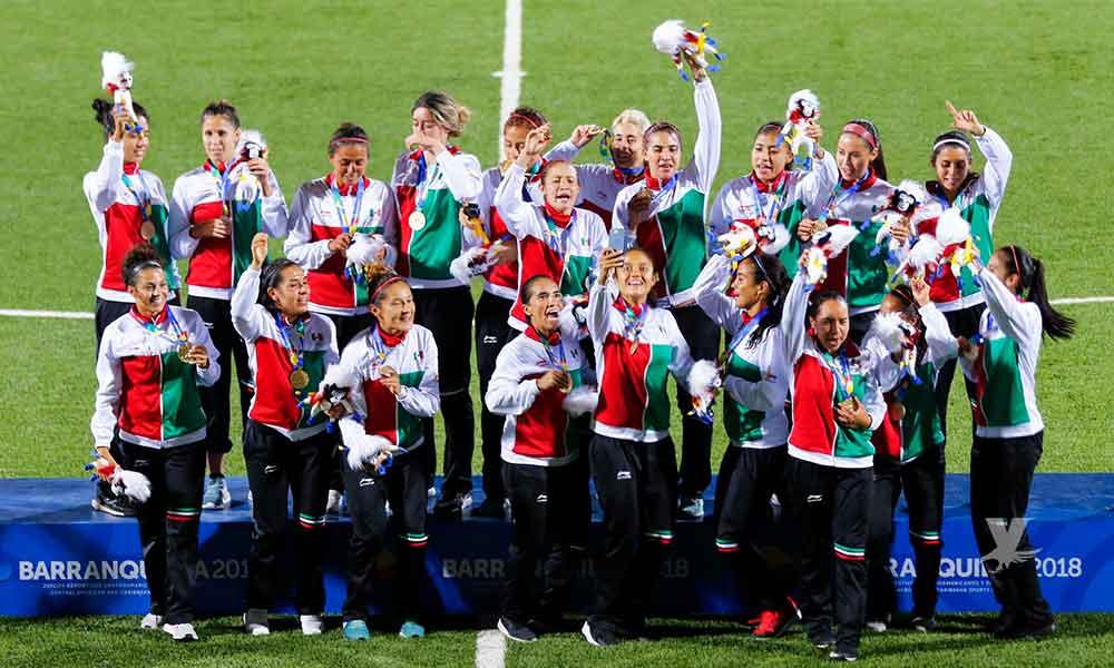 Tri femenil gana oro para México en Barranquilla