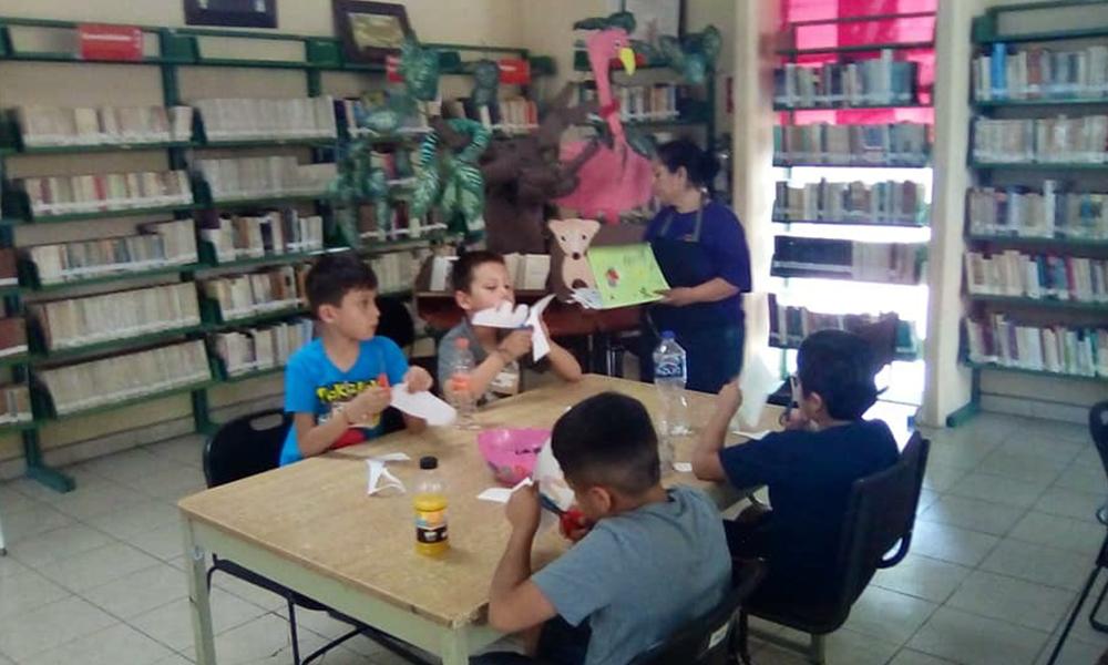 Fomentan bibliotecas municipales el hábito de la lectura en menores de Tecate