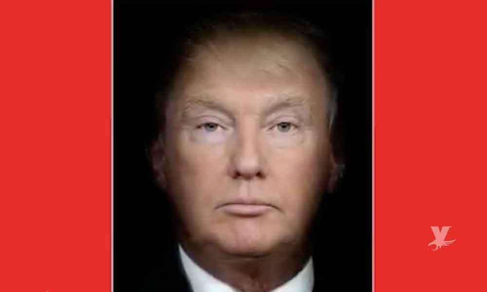 """(VIDEO) Trump y Putin ahora son uno mismo tras """"fusionarse"""" en revista Time"""