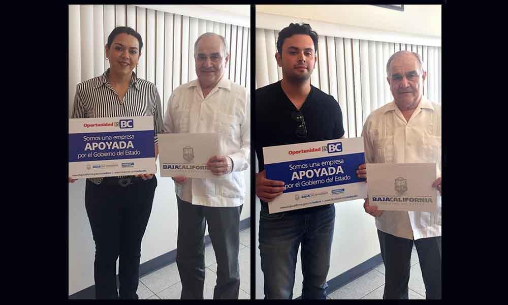 Fortalecen a Microempresas con el financiamiento de más de un millón de pesos en Ensenada