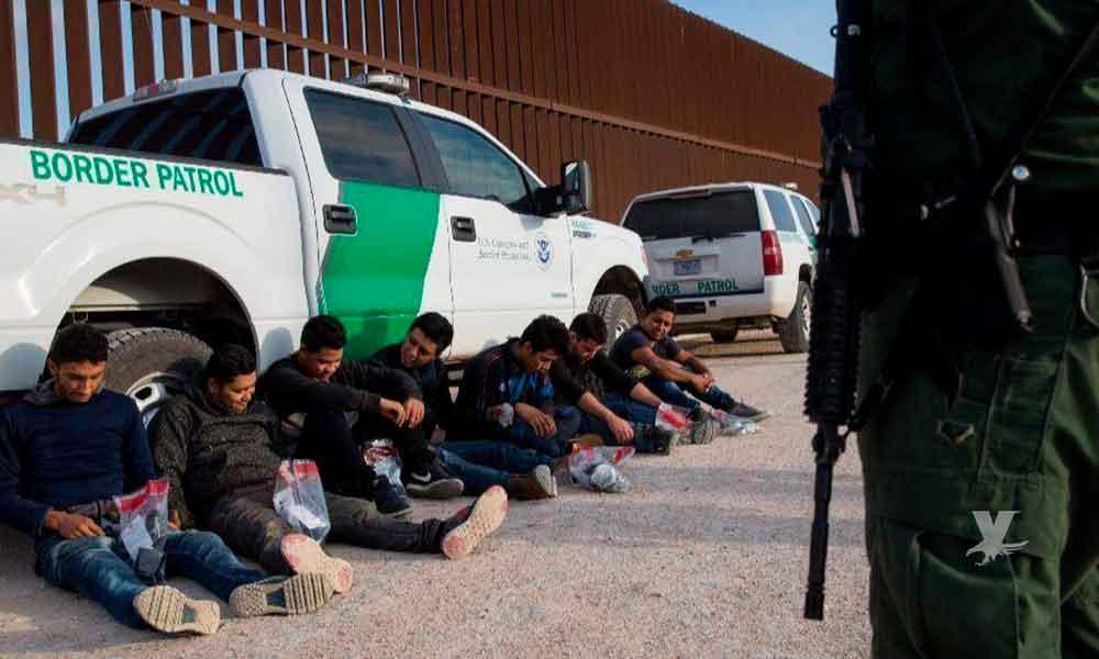 Fueron 35 mil personas arrestadas por cruzar ilegalmente la frontera de Estados Unidos en junio
