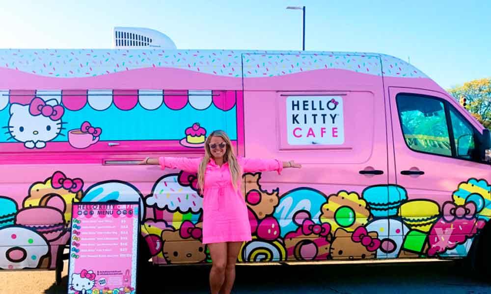 Hello Kitty Cafe Truck estará presente en San Diego Comic-Con