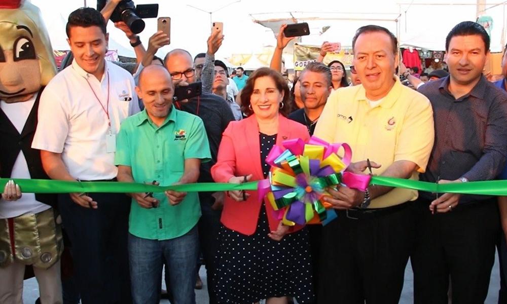 Inaugura Mirna Rincón la Feria Playas de Rosarito 2018