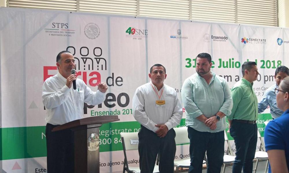 Inauguran Feria de Empleo 2018 en Ensenada