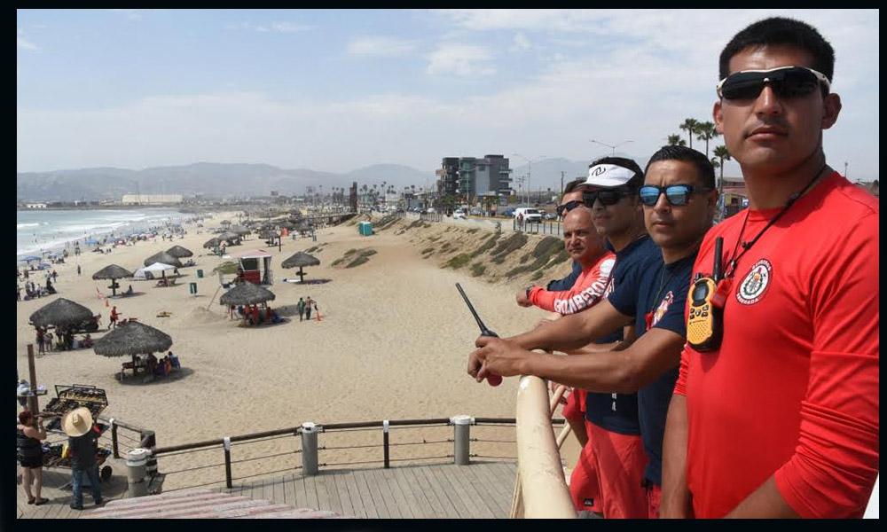 Informan de cinco personas con picaduras de mantarrayas en  Playa Hermosa de Ensenada