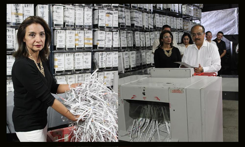 Inicia IEEBC proceso de destrucción de documentación y material electoral