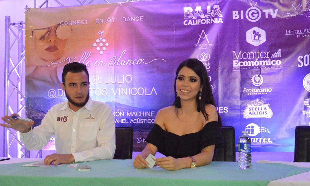 Invitan Festival Valle en Blanco en la Ruta del Vino en Ensenada
