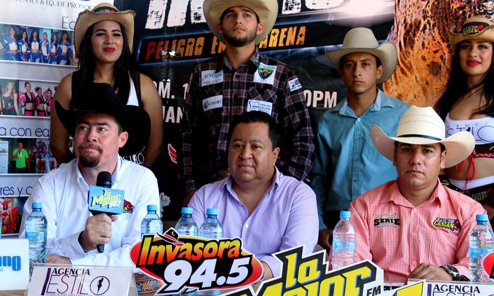Llega el espectáculo de rodeo de alta calidad para Baja California