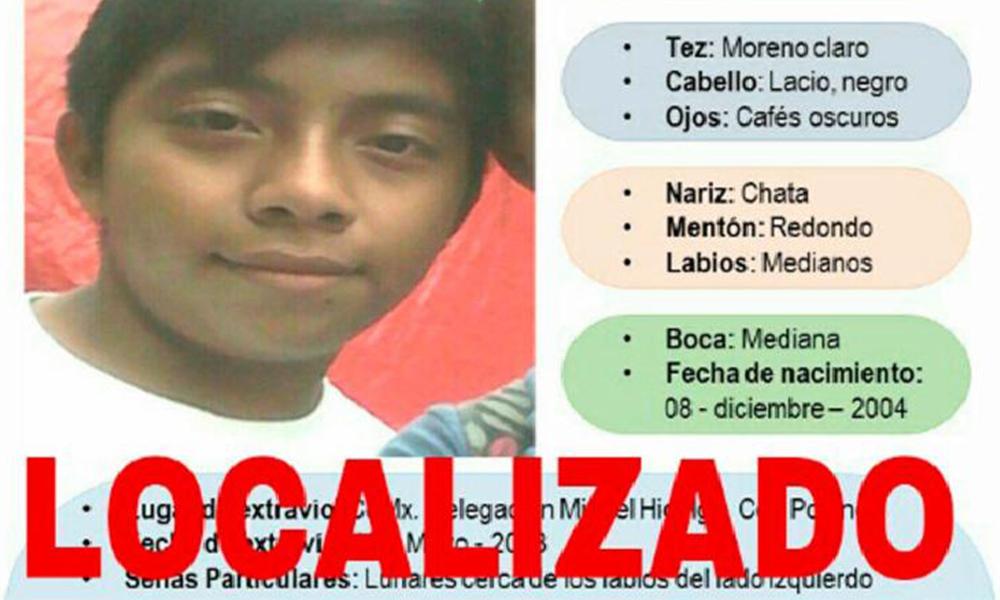 Localizan a menor que se extravió hace dos meses en Polanco (VIDEO)