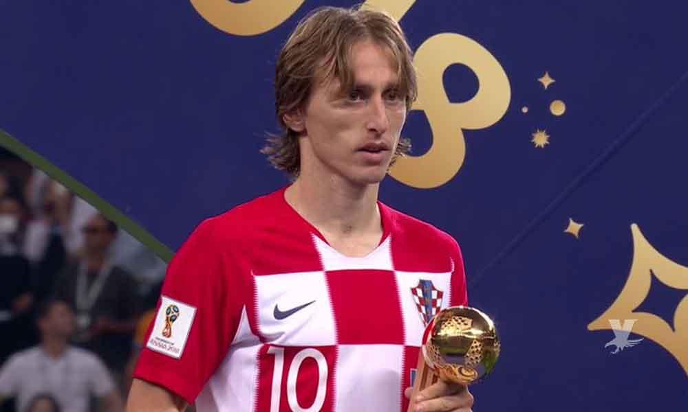 Luka Modric es nombrado por la FIFA el mejor jugador del Mundial Rusia 2018