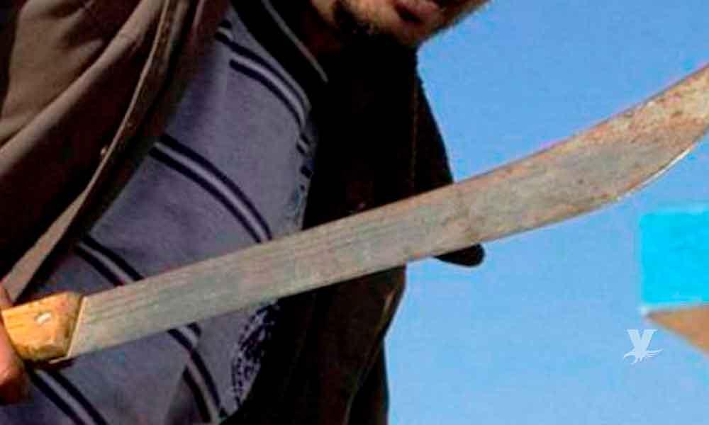 Vecino atacó en la cabeza a Ubaldo por supuesto robo de televisión en Mexicali