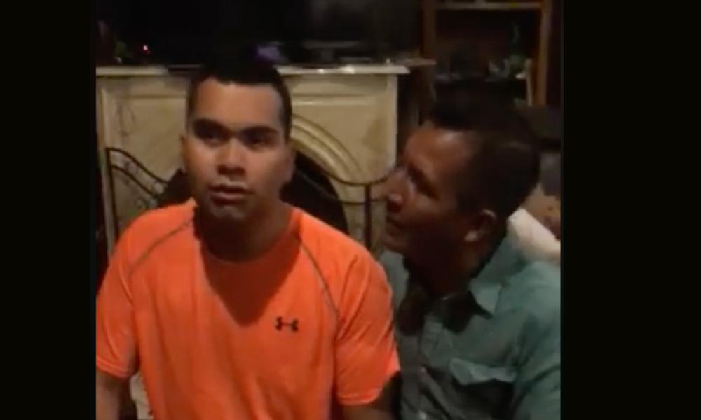 Padre de joven con autismo denuncia la mal actuación de un elemento de la policía de Tecate (VIDEO)