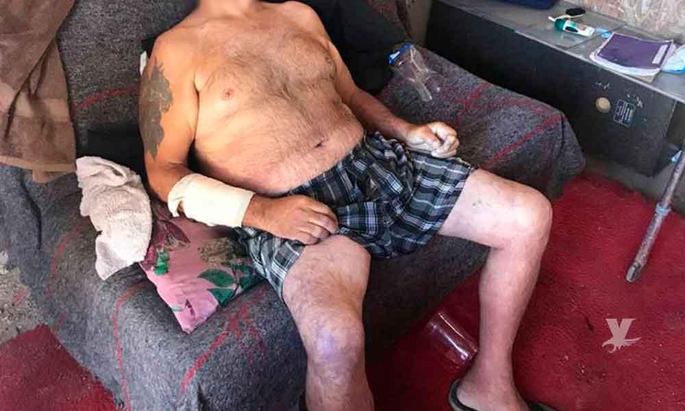 Hombre mayor es encontrado muerto sentado en su sofá por golpe de calor en Mexicali