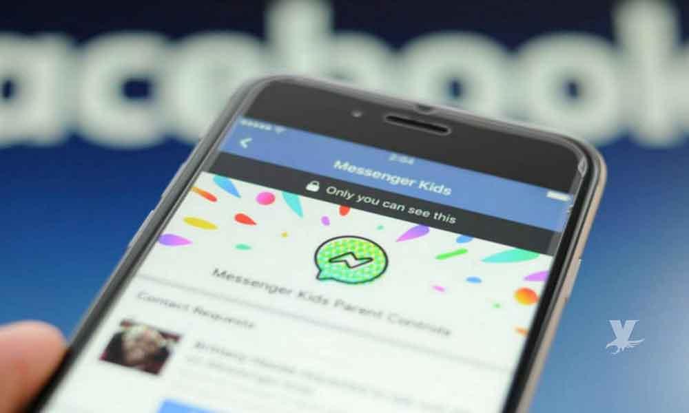 Padres en México podrán vigilar las pláticas de sus hijos en Facebook con Messenger Kids