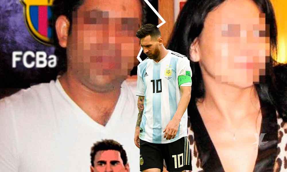 Messi causa el divorcio de pareja casada desde hace 14 años