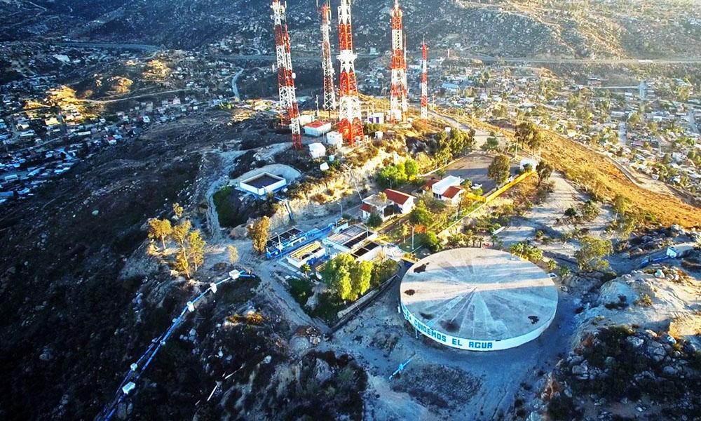 Millonaria inversión en el sector hídrico en Tecate