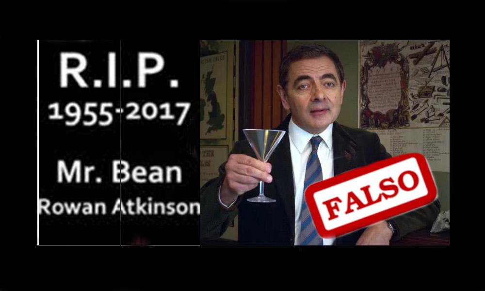 ¡Cuidado! La muerte de Mr. Bean es un virus disfrazado de meme