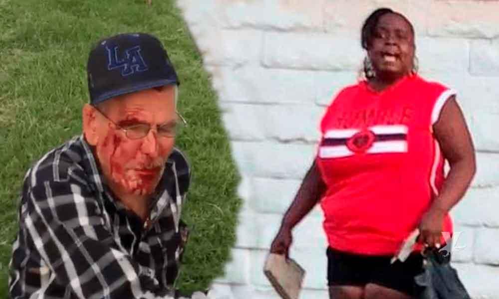 Autoridades detuvieron a mujer que agredió con un ladrillo a un anciano mexicano en Estados Unidos