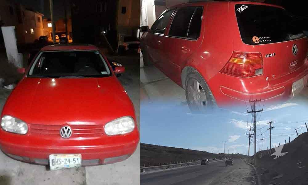 (VIDEO) Hombres ayudan a una mujer a cambiar la llanta de su carro para robarle el carro en Vía Rápida de Tijuana