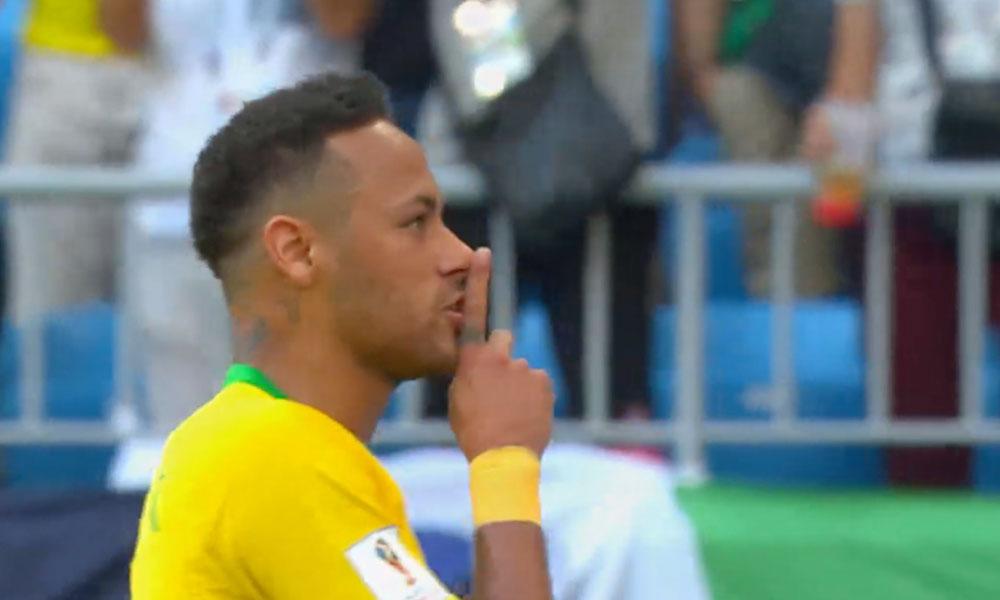 Neymar anota y manda a callar a la afición Mexicana: (VIDEO)