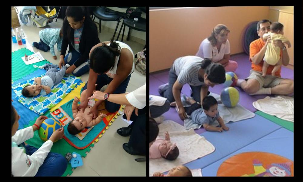 Ofrecen estimulación temprana para bebés en unidades móviles en Baja California