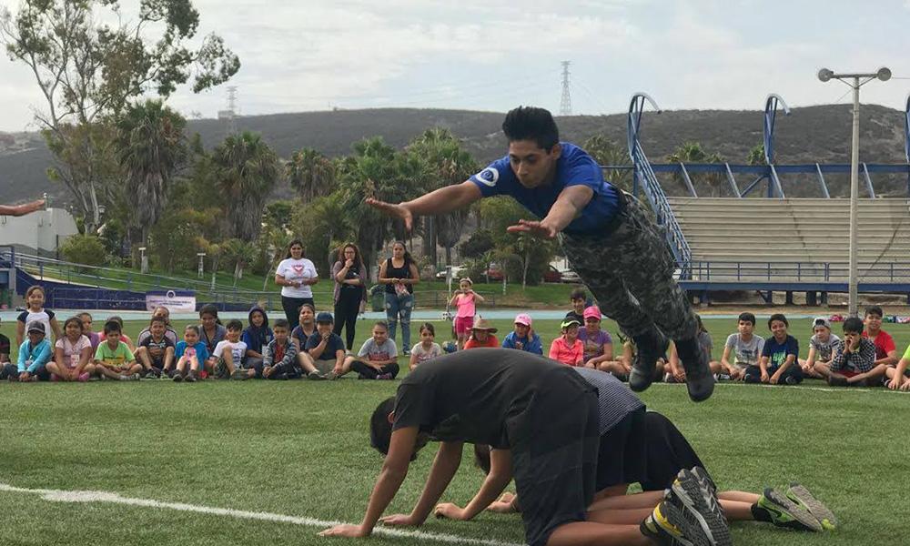 Participa la Patrulla Juvenil en el curso de verano de INMUDERE en Ensenada
