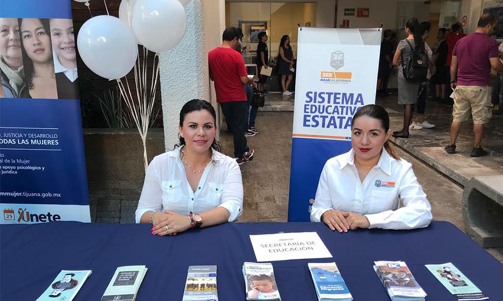 Participa el Sistema Educativo de Tijuana en la jornada contra la trata de personas