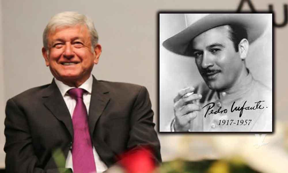 Hombre le Exige a AMLO que investigue y aclare la muerte de Pedro Infante
