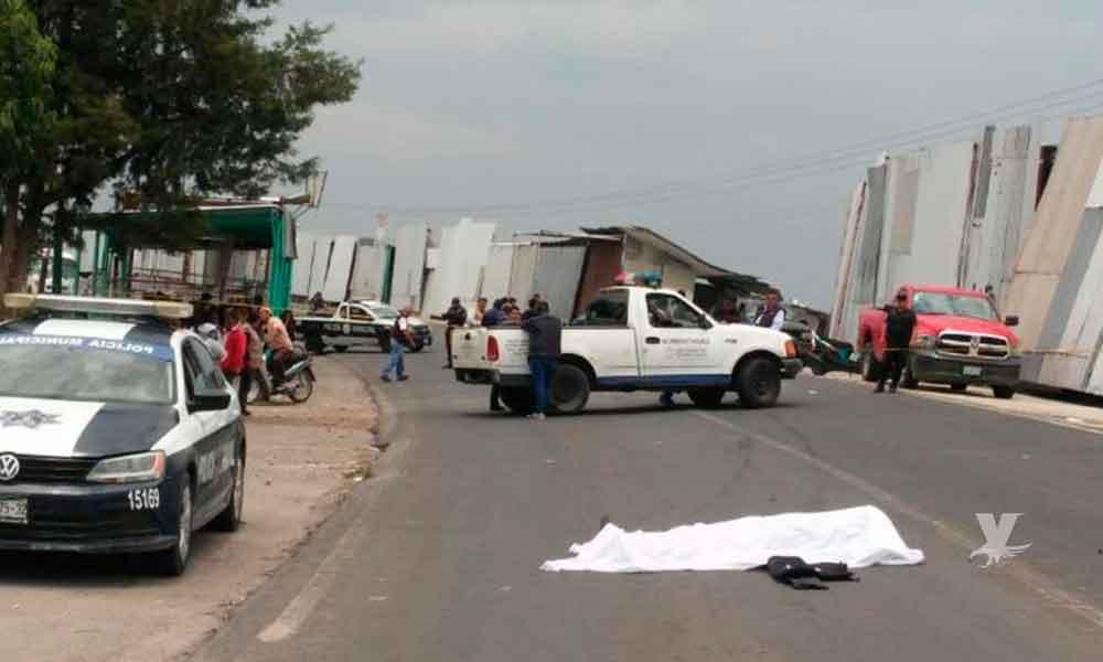 Policía Municipal muere atropellado por trailero mientras perseguía a asaltantes de un banco