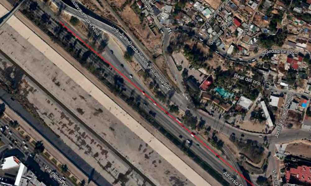 Lunes 30 de julio habrá cierre en tramo de Vía Lenta Oriente en Tijuana
