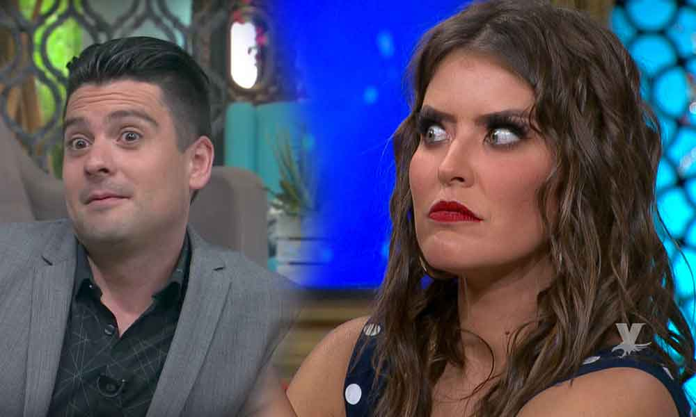 (VIDEO) Carlos Quirarte es captado levantando el vestido de Vanessa Claudio para ver su ropa interior