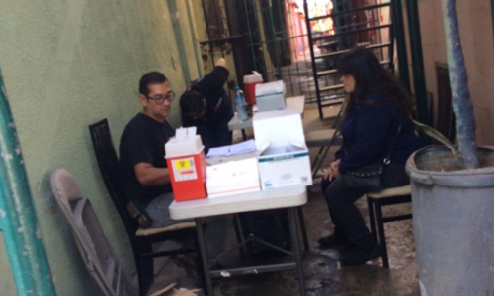 Realizan detección de sífilis y VIH en la zona norte de Tijuana