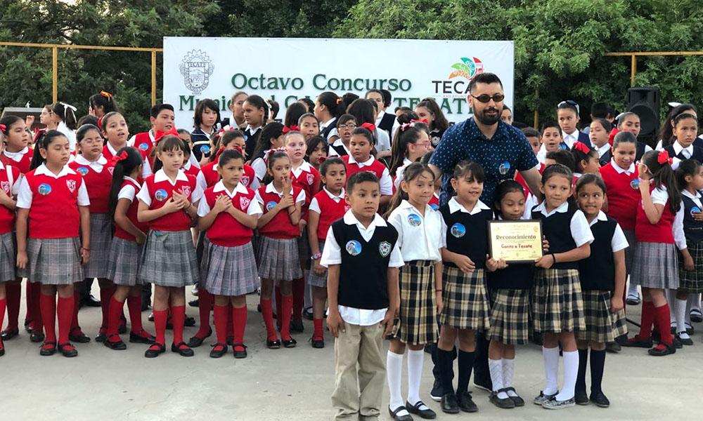 Se realizó el Octavo Concurso Municipal de Canto a Tecate