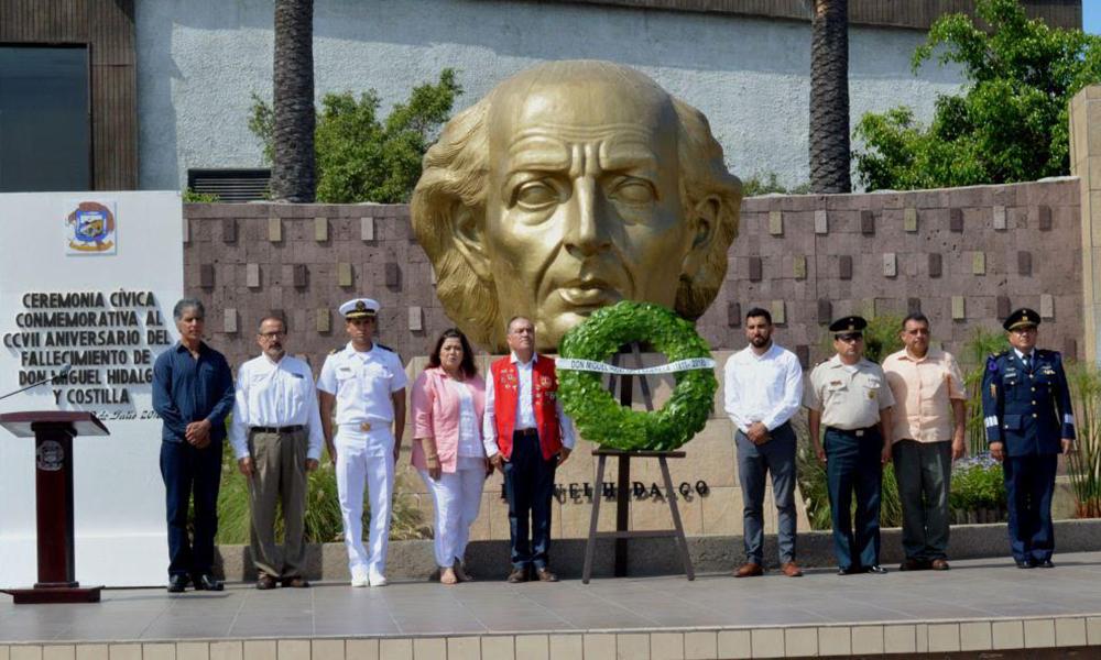 Recuerda Ayuntamiento a Don Miguel Hidalgo y Costilla a 207 años de su muerte
