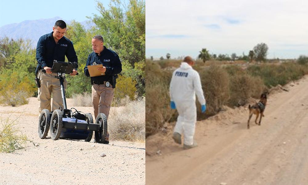 Refuerza la PGJE a la Fiscalía Estatal de búsqueda de personas desaparecidas en Tijuana