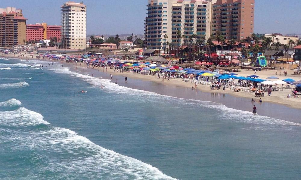 Registran alta ocupación hotelera en Playas de Rosarito