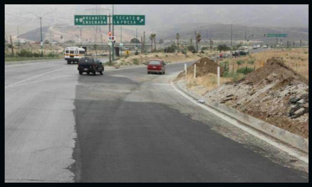 Rehabilitan los primeros 36 kilómetros del  bulevar 2000 de Tijuana