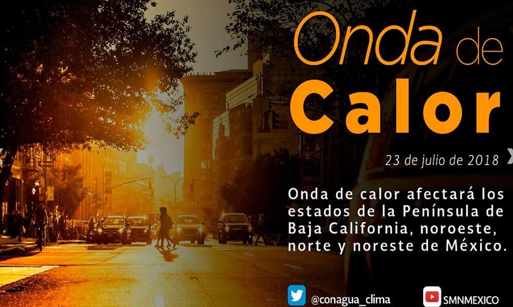 Reitera Protección Civil recomendaciones por temperaturas altas en Ensenada